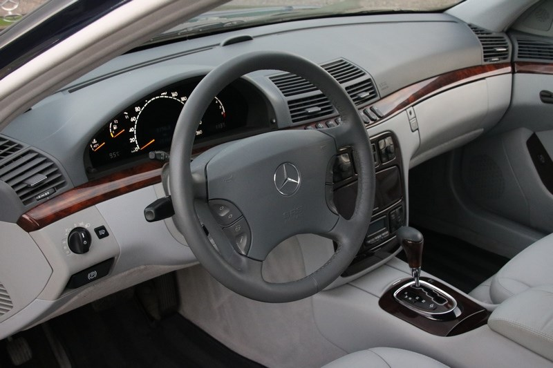 Interieur Mercedes Benz S430 '00 31.000km €19.950,-