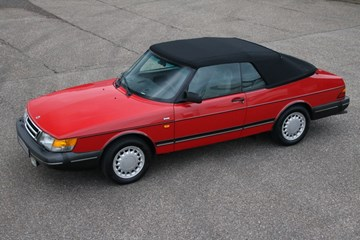 Saab 900 Cabriolet Low Pressure Turbo '91 €11.950,-