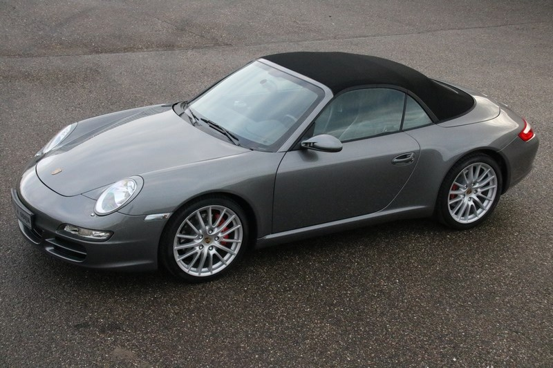 For sale: Porsche 997 Carrera S Cabriolet Tiptronic '07 NL-car, 1st owner €52.997,-