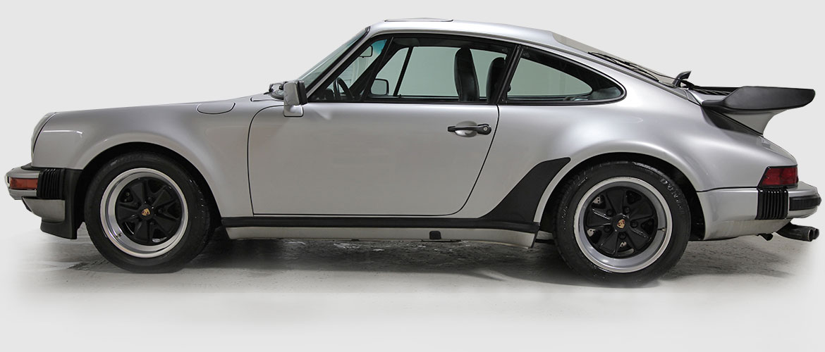 Gerestaureerde Porsche 911 3.0 Turbo 1976
